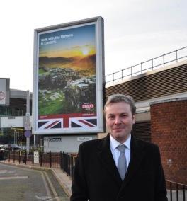 Jamie Reed MP at Heathrow