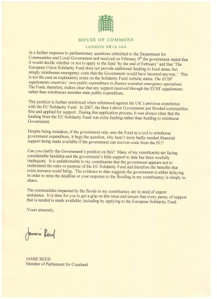 Letter to the PM (2)