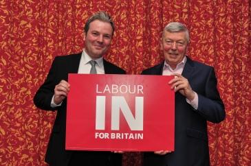 Jamie Reed MP and Alan Johnson