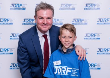 JDRF Westminster Palace reception.Jamie Reed, and James Vickers.Copyright John Nguyen/JNVisuals25/04//2016